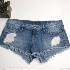 Guess distressed cutoffs